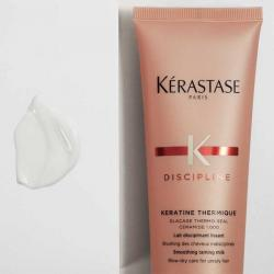 texture du Keratine thermique Kérastase-lait disciplinant texturisant protecteur thermique