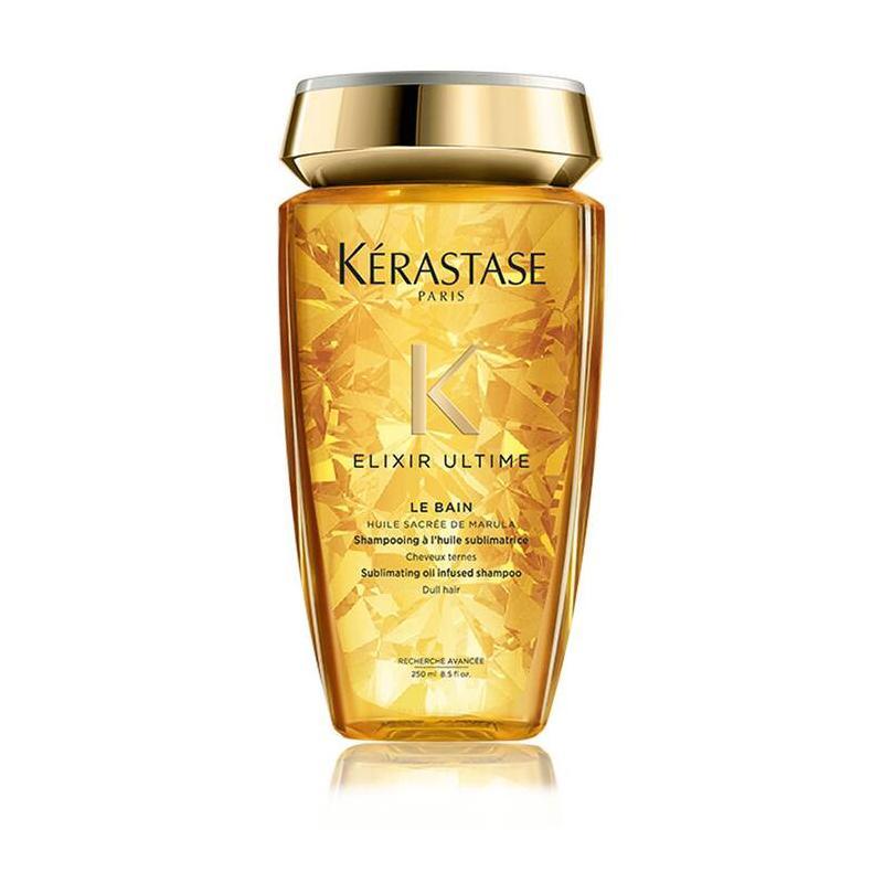 shampooing bain Elixir Ultime Kérastase -huile-argan-marula-germe de maïs-camelia-achat en ligne