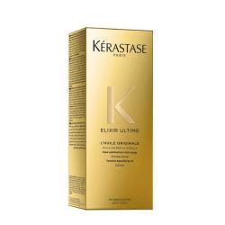 Serum huiles originales thermique  Elixir Ultime Kérastase-soin sans rinçage aux 4 huiles-marula-camelia-germe de maïs-argan