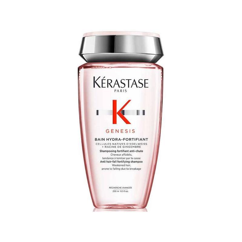 Bain hydra-fortifiant GENESIS de Kerastase-shampooing fortifiant anti-chute cheveux fins affaiblis