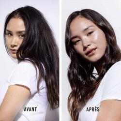 avant et apres seum quotidien anti-chute GENESIS de Kérastase-fortifiant pour cheveux affaiblis