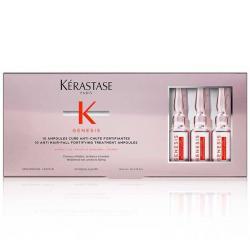traitement &à ampoules genesis Kérastase-cure fortifiante-aminexil-gingembre-viperide