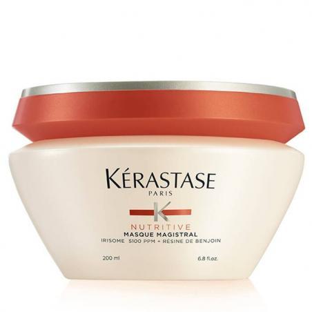 masque pour cheveux secs- masque magistral nutritive kerastase-soin pour hydratation des cheveux epais