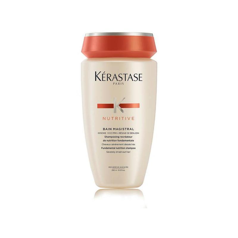 shampooing bain magistral de kerastase-hydratation profonde des cheveux secs et épais-nutritif