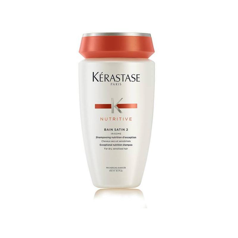 shampooing bain satin 2 kerastase-nutrition moyene-deuxieme dosage-tous types de cheveux secs-bestseller