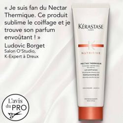 nectar themique kerastase-lait de protection thermique pour cheveux secs-transformation-chaleur-soin-nourissant