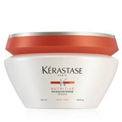 La creme soin nutritif pour les cheveux épais Masquintense par Kérastase-pot 200ml