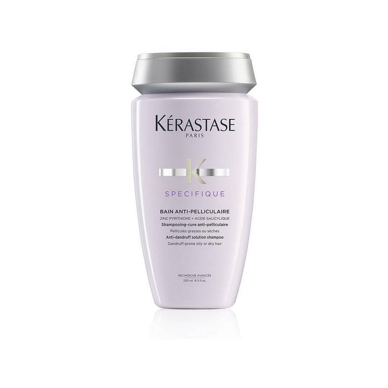shampooing bain anti-pelliculaire-kerastase-purifiant-cuir chevelu-sec-gras