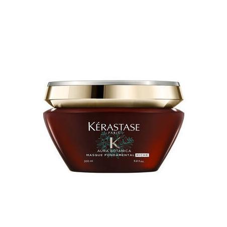 Masque Fondamental Riche AURABOTANICA par Kérastase-Soin d'Hydratation végétal