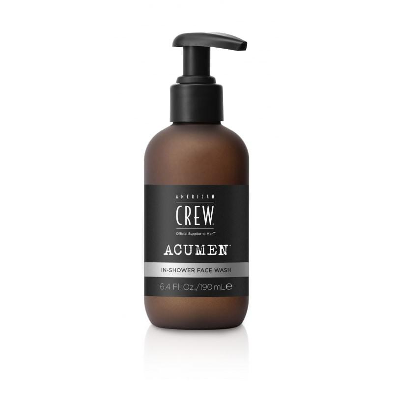Nettoyant visage In shower Face wash Acumen de la marque American Crew