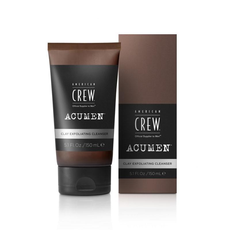 Masque gommant et nettoyant exfoliant à l'argile Clay Exfoliating Cleanser de la marque Acumen par American Crew