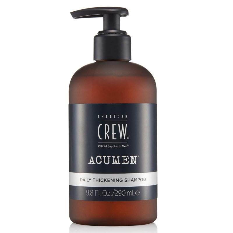 flacon de shampooing daily thickening de la marque Acumen par American Crew
