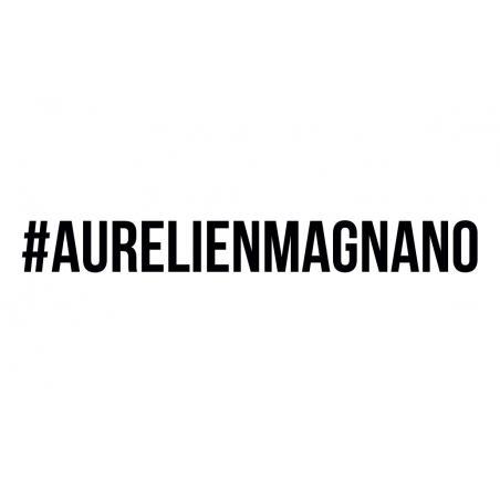 le tatouage ephémère du hastag Aurelien Magnano