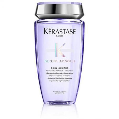 Le shampooing BAIN LUMIÈRE de la gamme BLOND ABSOLU par Kérastase pour des cheveux blonds éclatant de santé et de douceur