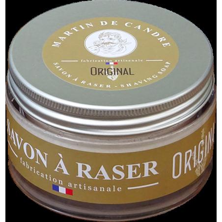le savon à raser artisanal l'original de martin de candre