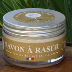 le savon à raser artisanal l'original de martin de candre - made in france