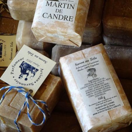 savon à la resine de tolu artisanal martin de candre