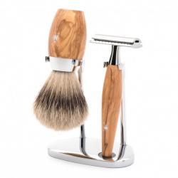 Coffret de rasage, poils...