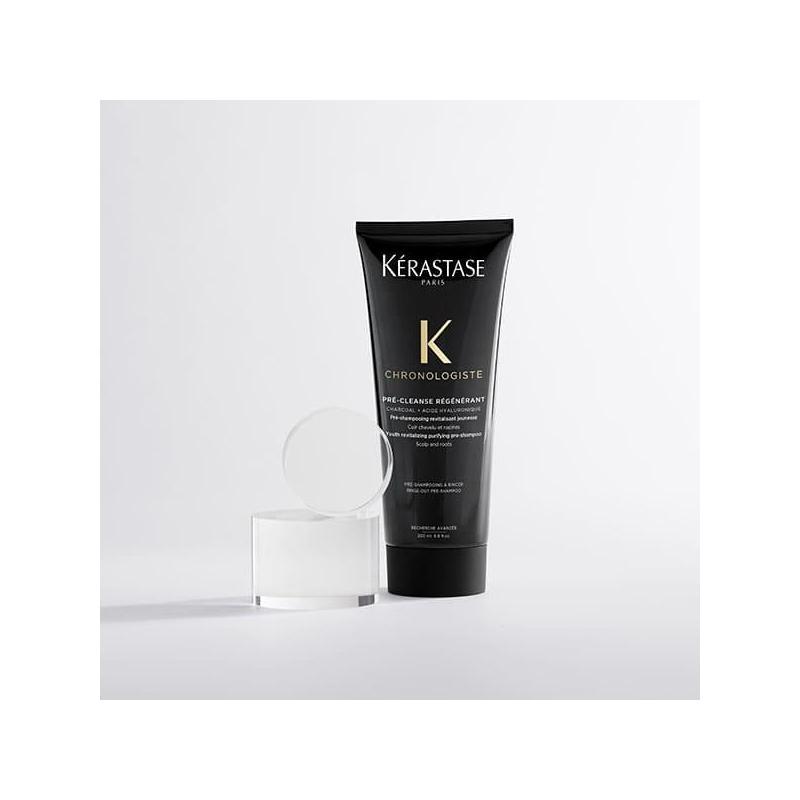 Pré-Cleanse Régénérant Chronologiste Kerastase-pe-shampoing au charbon