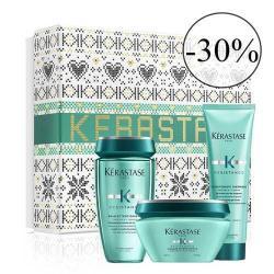 coffret cadeau collection noel Kerastase Extentioniste 2020-moins 30%-promo