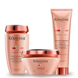 Trio de produits-coffret cadeau collection noel Kerastase Discipline 2020