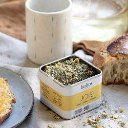 infusion-herbes-camomille-menthe pouliot-zeste-orange-kalios-citronelle-JOIE-aurelien-magnano-gourmet-au petit dej