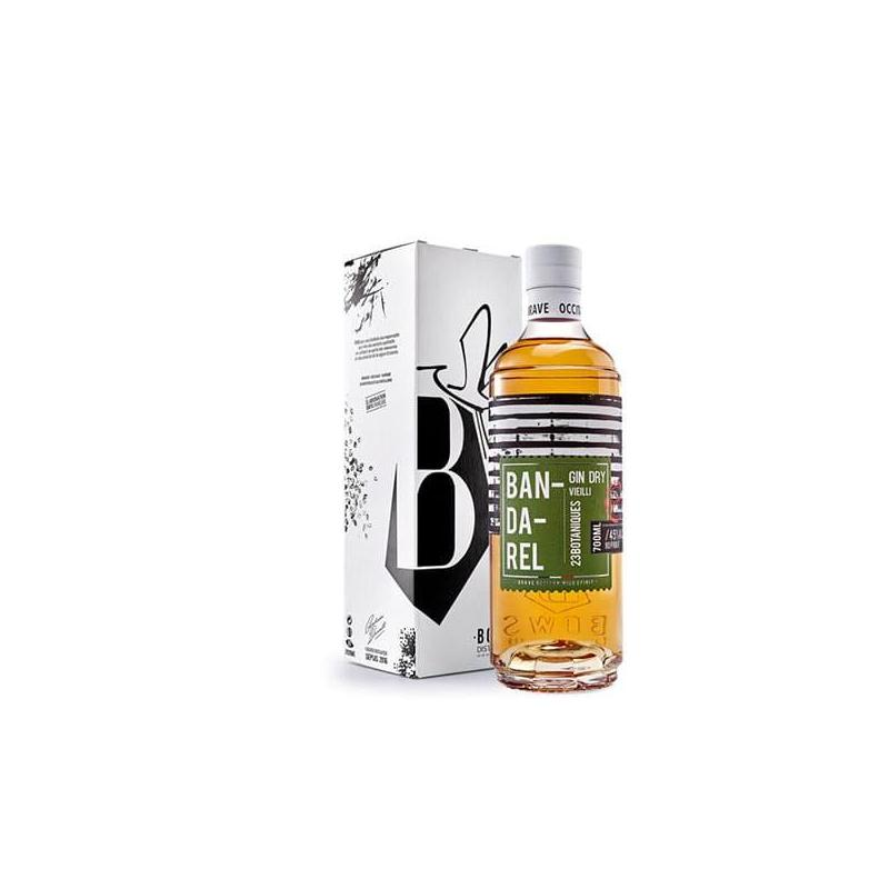Gin bandarel vieilli-bows-distillerie-montauban-spiritueux-occitanie-et-boite
