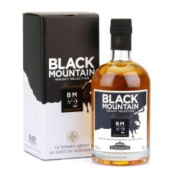 Whisky N°2 Premium-BLACK MOUNTAIN-bouteille avec sa boîte