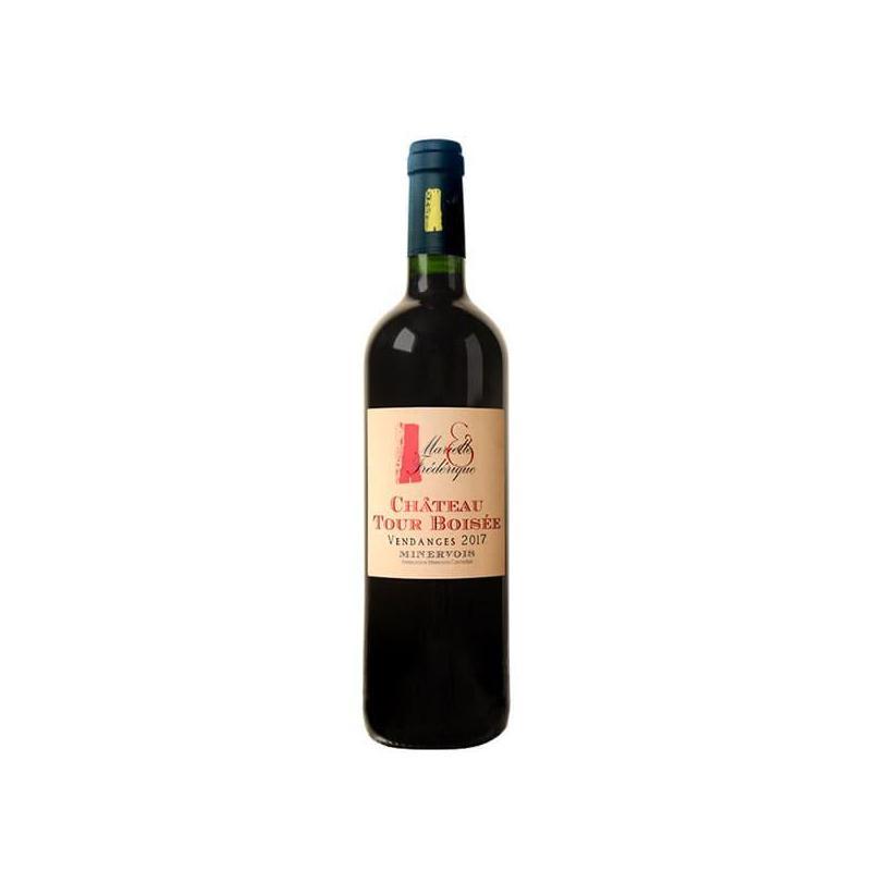 AOC minervois-la tour boisee- marielle et frederique 2017-vin rouge