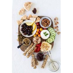 Gressins Crétois pour l'apéritif ou le petit déjeuner   KALIOS Les 4 Recette Crétoise