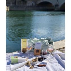 Gressins Farine de Caroube et graines de sésame -KALIOS-aperitif à la grecque au bord de l'eau