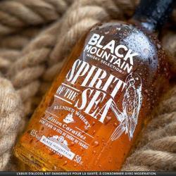 Spirit of the sea Black Mountain 3eme edition-serie limitée-whisky-vieillissement en mer-voilier-le-gallant