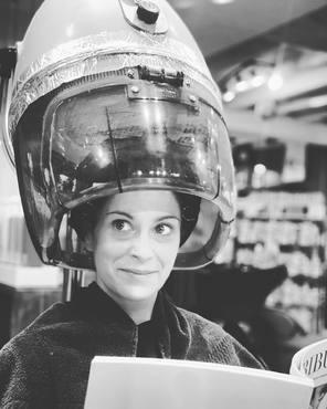 Après midi Peaky Blinders  version #aurelienmagnano! Avec @audrey.lgd82 #vintage #miseenplis #coiffure #coiffeur #montauban #peakyblinders #salondecoiffure #kerastase